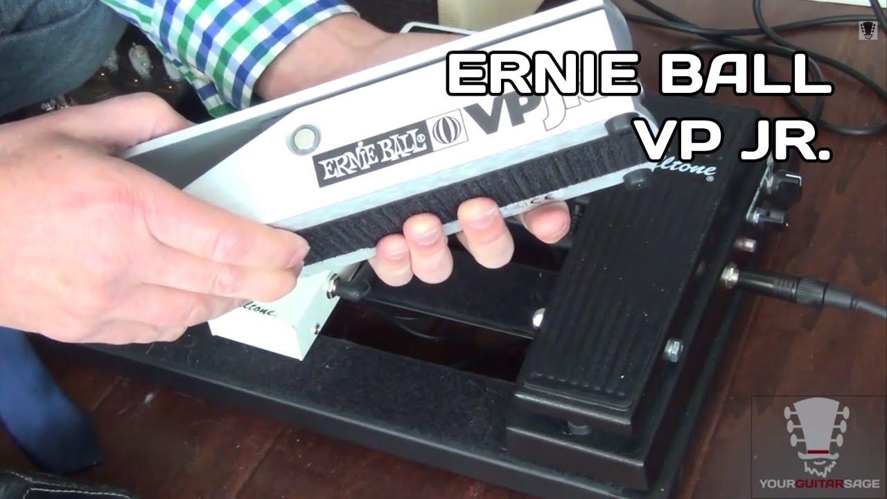 Ernie Ball VP Jr. Volume Pedal - Gear Review - YouTube