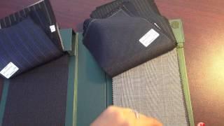видео костюмные ткани