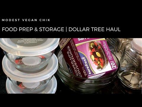 Dollar Tree Haul | Food Prep & Storage | Jan 29 2017