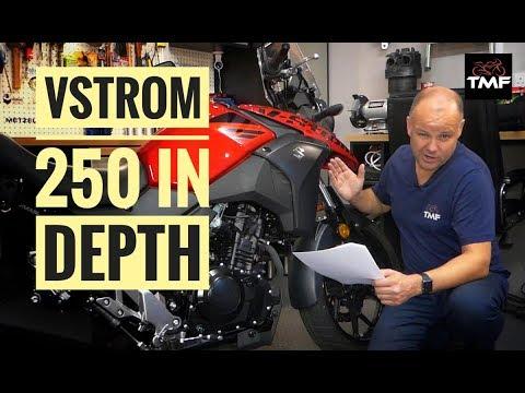 Suzuki V Strom 250 In Depth Review