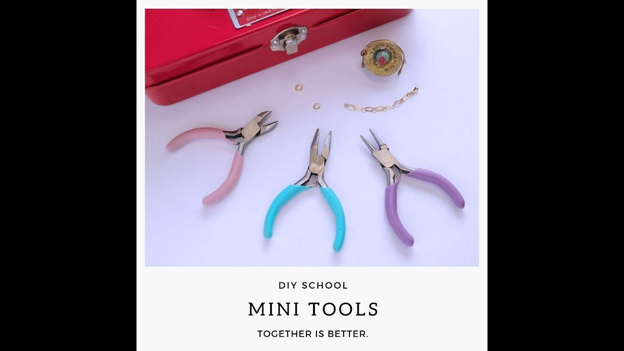 【飾品設計】迷你工具鉗三件組