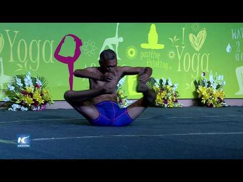 Festival Internacional de Yoga en India une al mundo