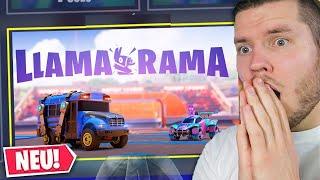 NEUER BOSS in  FORTNITE  LLAMA RAMA UPDATE!