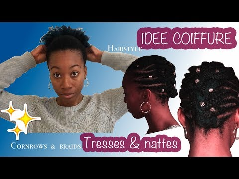💁🏾‍♀️✨IDEE COIFFURE / HAIRSTYLE #2 TRESSES & NATTES