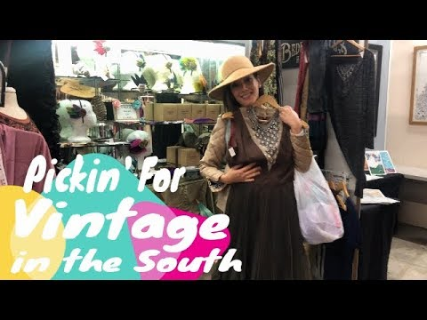 Picking For Vintage & Antiques In New Orleans , The Thrill Of The Thrift Hunt