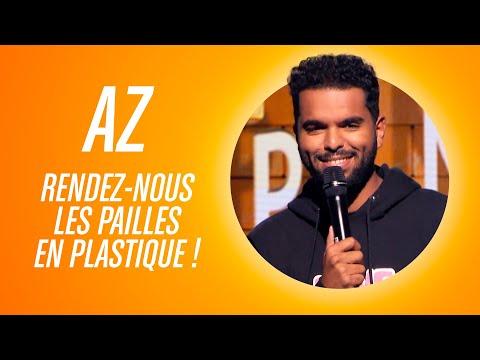 """AZ - """"RENDEZ NOUS LES PAILLES EN PLASTIQUE !!"""""""