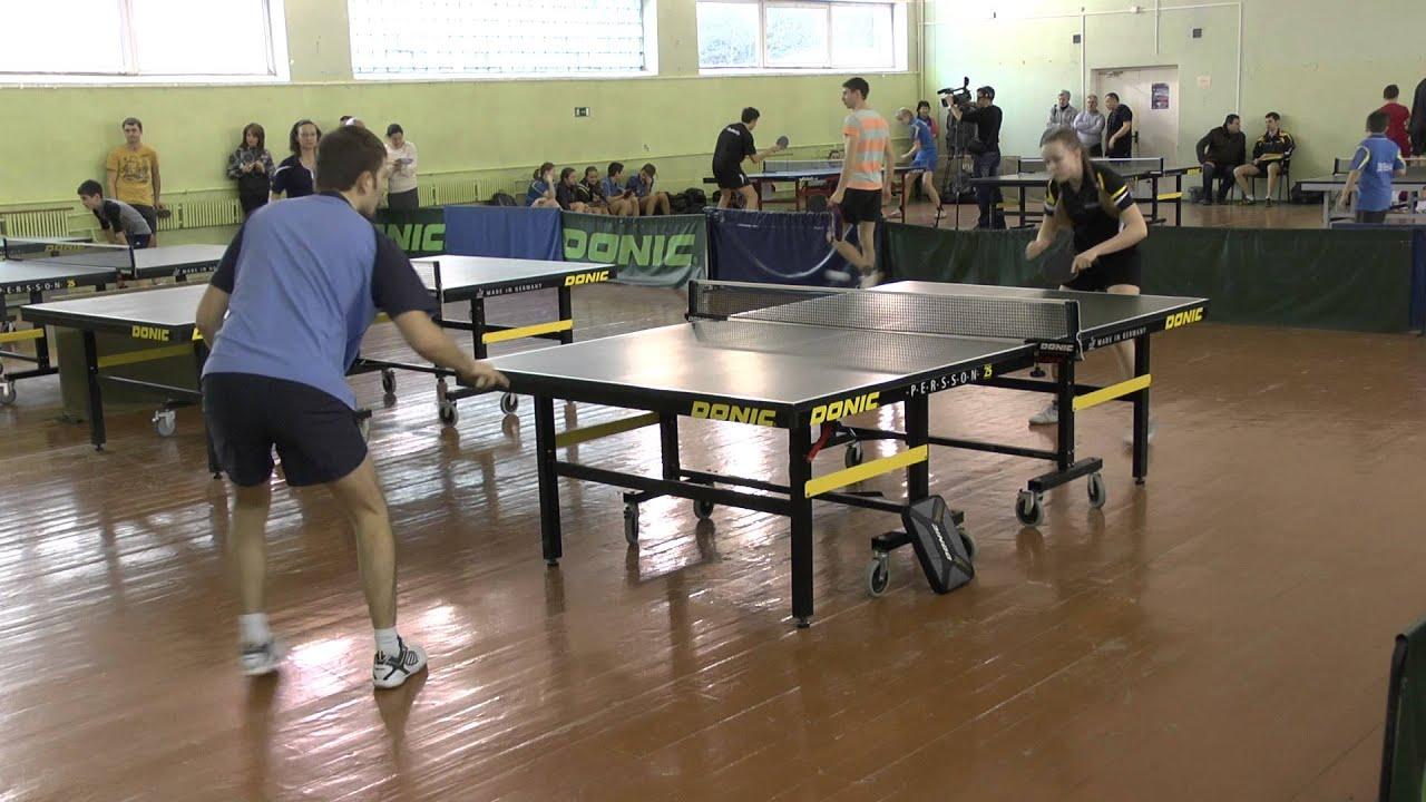 Евгений ЕМЕЛЬЯНОВ - Юлия ОСТАНИНА (Полная версия) Настольный теннис Table Tennis
