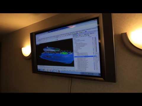 Carver Yachts Shipyard:  Design Center