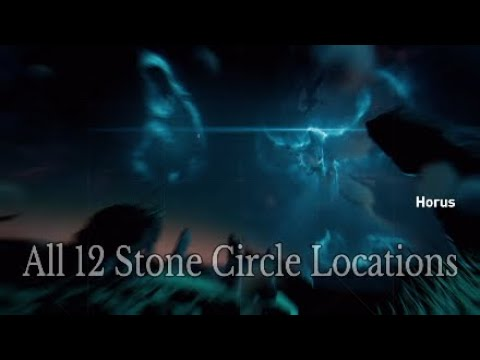 Assassin's Creed Origins - All 12 Stone Circle Locations