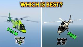 GTA 5 SWIFT VS GTA 4 SWIFT : WHICH IS BEST?