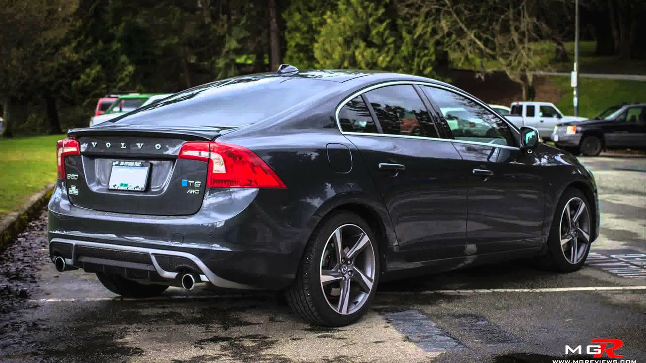 2015 Volvo S60 T6 Rdesign Awd Youtube