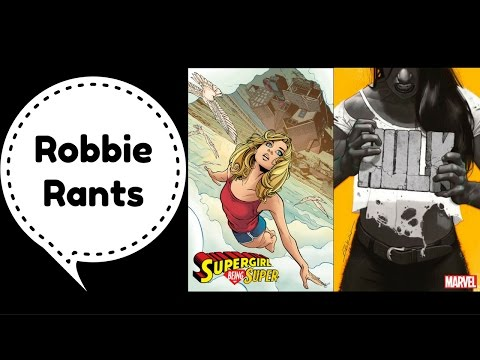 Weekly Comic Book Review 12/28/16 - Robbie Rants #55