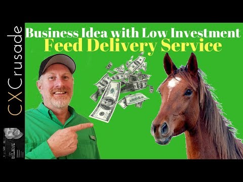 Small Business Ideas with Low Investment - Feed Delivery Service