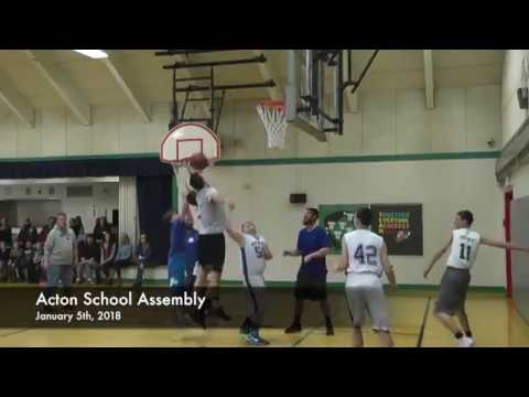 Acton School Assembly - 01-05-2018