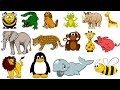 Learn Colors With Animals and Sound - Kids Fun Educational Learning Video | Old MacDonald Farm