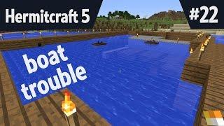 Boat trouble — Hermitcraft 5 ep 22