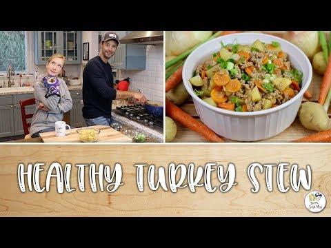 Healthy Turkey Stew  Baking With Josh & Ange