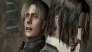 Resident Evil 4 (Dublado) - Leon e Luis presos na cabana