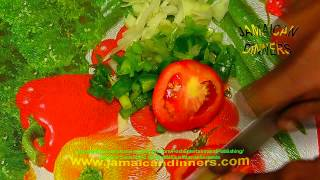 Sardine Scramble Omelet - Jamaican food HD