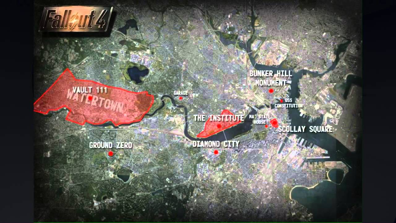 Fallout 4 Map Locations   YouTube