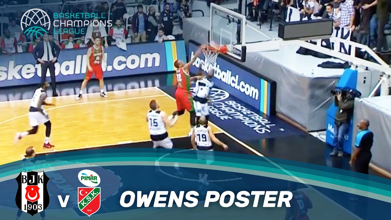 Hammertime! Amazing Poster Dunk by Josh Owens!