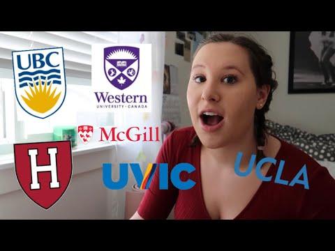 College Decisions 2019 Canada