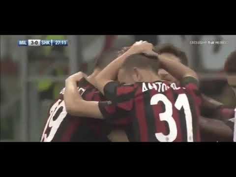 AC Milan vs Shkendija 6 0   Highlights