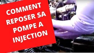 🚐🚘🚜🚚🚗🚙  Comment reposer le distributeur d'une pompe à injection