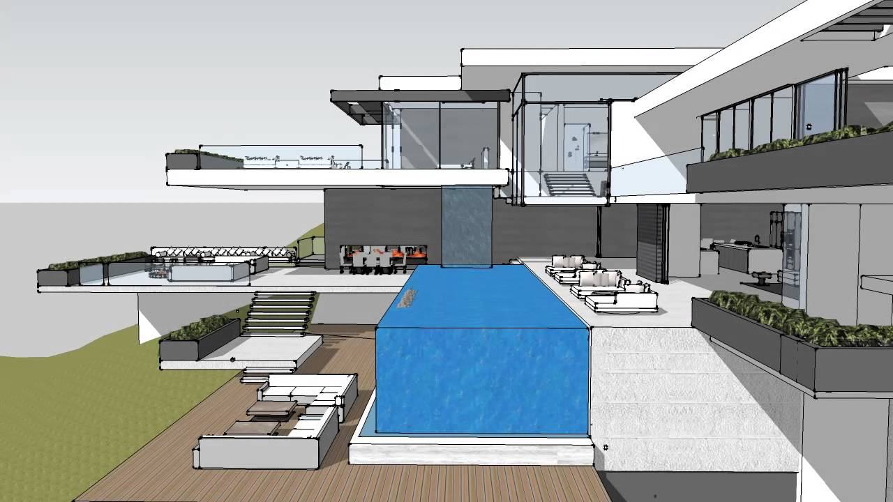 Modern Mansion Sunset Plaza Pictures To Pin On Pinterest