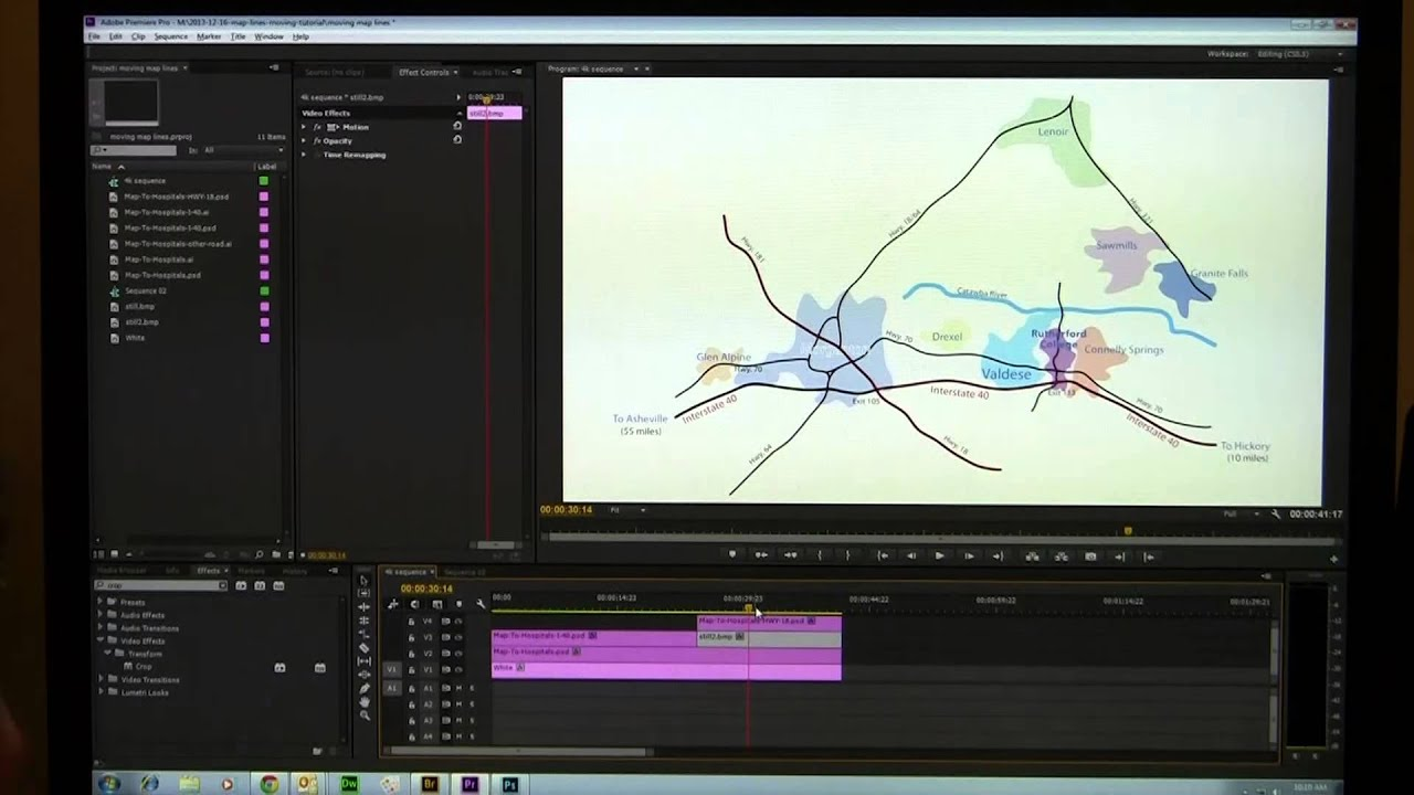 Make Animated Travel Map - Premiere Pro Cc
