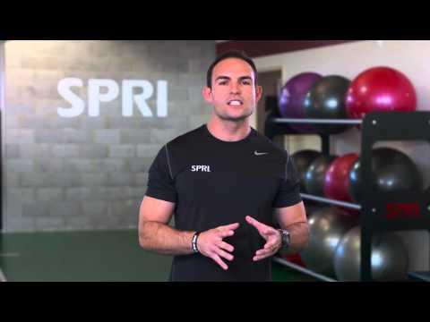 Shoulder Push Press Exercise | SPRI Braided Xertube