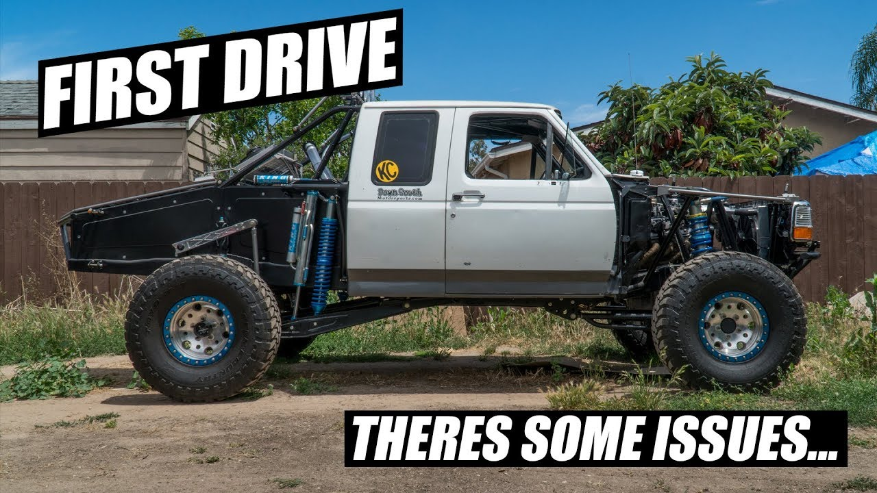 Driving The F150 Prerunner For The First Time Youtube