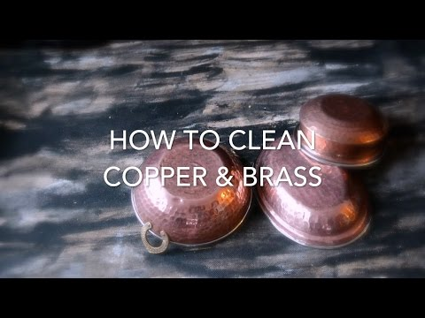how-to-clean-copper-&-brass-utensils-with-vinegar-and-salt---so-easy!