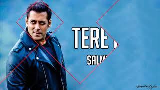 Tere Bina (Lyrics) - Salman Khan, Jacqueline Fernandez