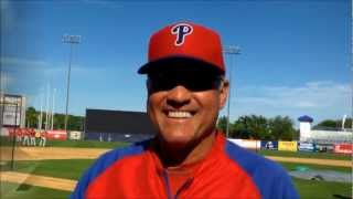 Baseball Hall of Famer Ryne Sandberg gives his thoughts on the Army/Navy baseball series