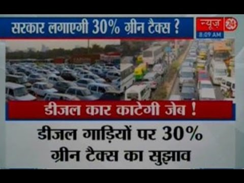 Green tax to stay as commercial vehicles entering Delhi