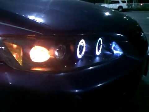 2000 Honda Accord Halo Headlights