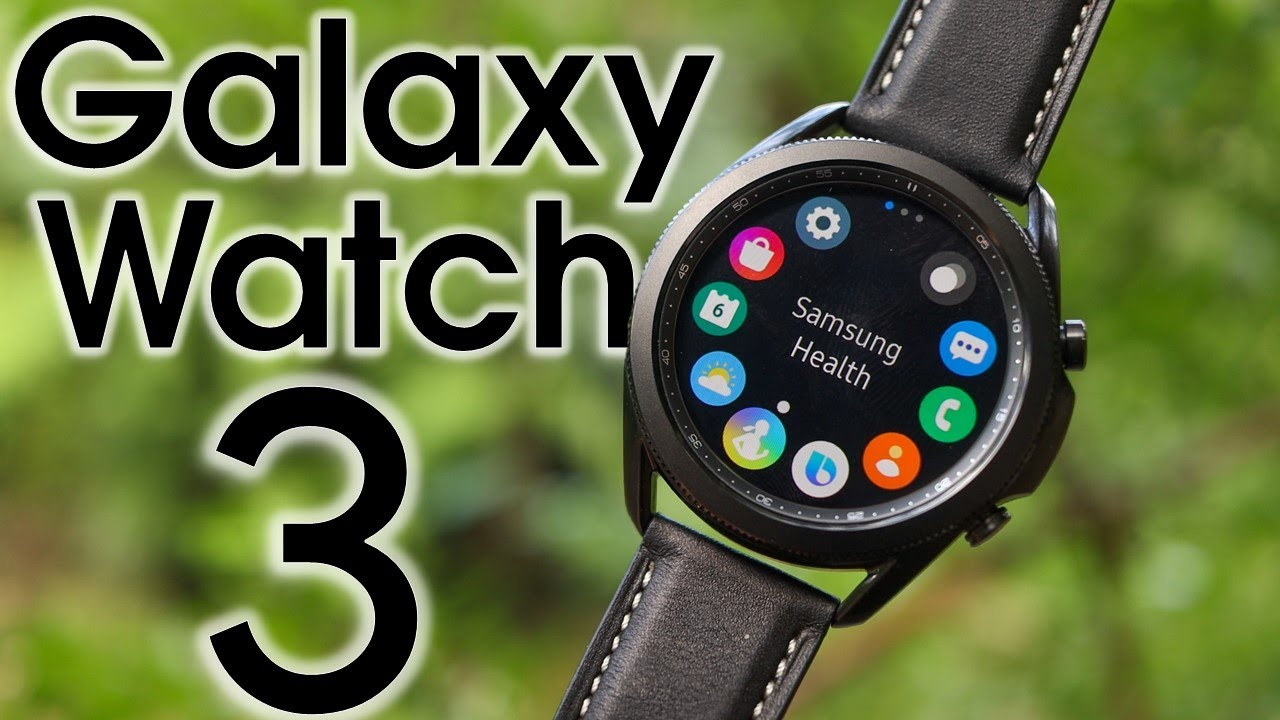 New Galaxy Watch 3 By Samsung It S About Time Youtube