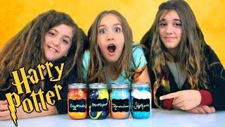 Harry Potter Slime for the 4 Houses of Hogwarts!