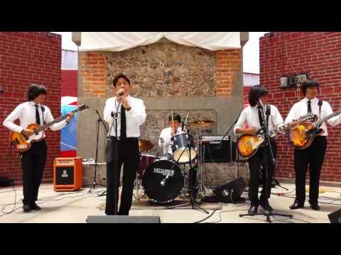 This Boys Beatles Tribute Band Full Live 2014 at Plaza de Cultura Texcoco México