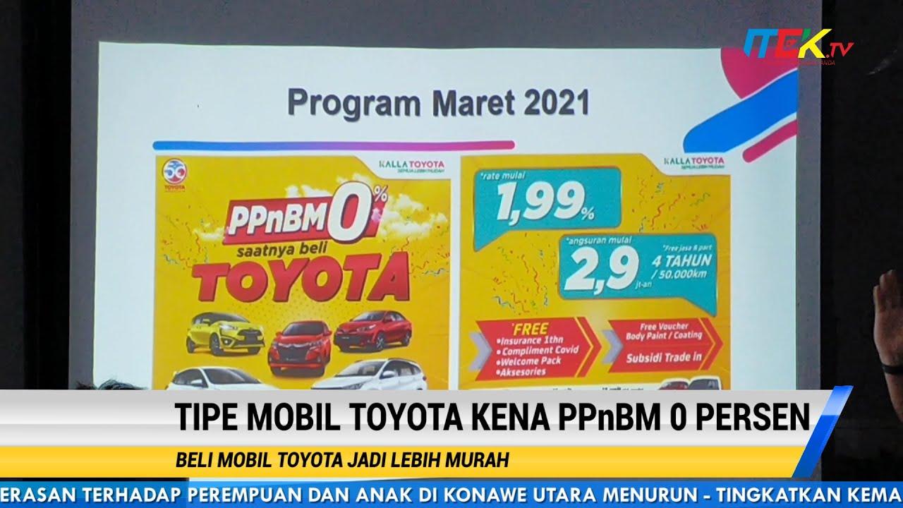 Tipe Mobil Toyota Kena PPnBM 0 Persen Beli Mobil Toyota Jadi Lebih Murah