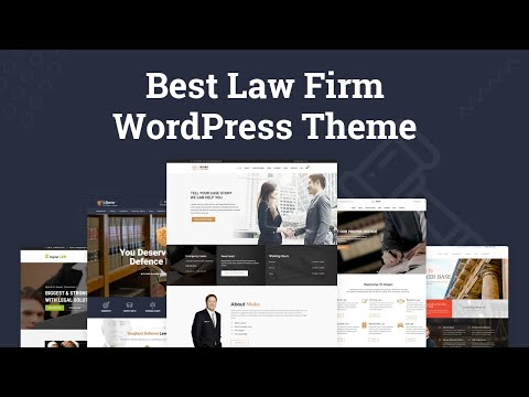 Create Lawyer Website Using Best Law Firm WordPress Theme