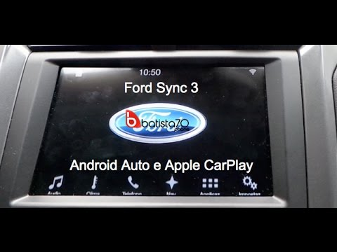 Ford Sync 3 con Android Auto ed Apple CarPlay