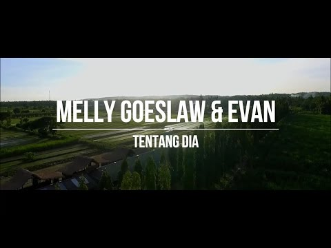 Melly Goeslaw & Evan - Tentang Dia (Lyrics Music Video)