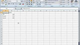 Microsoft Excel for Beginners #01-- Screen Layout and a simple formula