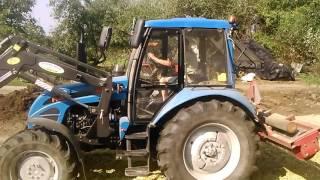 Traktor MTZ w akcji;-)