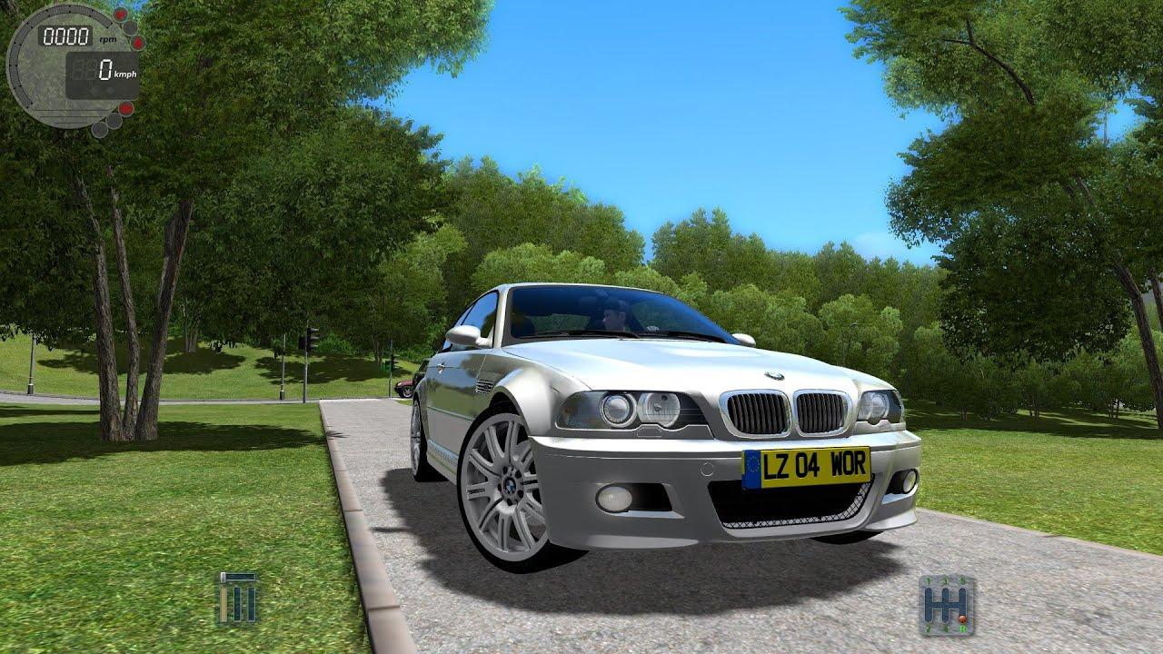 ... City Car Driving 1.2.5 BMW M3 E46 G27   YouTube ...