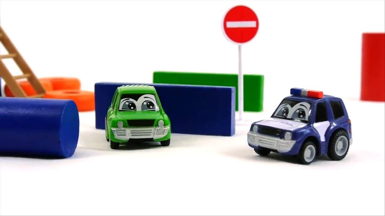 Señales de tráfico para niños - Coche de policía - Carros para niños ...