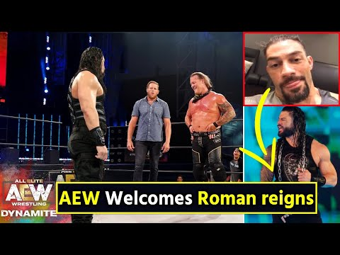 AEW Welcomes Roman reigns after leaving WWE Reveals Chris Jericho - When Roman reigns Returns to WWE