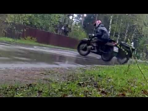 А на что способен тяжелый мотоцикл Урал/Днепр?:) - Видео онлайн